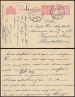Indes Néerlandaises 1923 - Entier Postal + Taxe Vers Kreiensen-Allemagne  Ref. (DD) DC-MV-051 - Indes Néerlandaises
