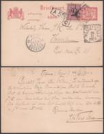 Indes Néerlandaises 1903 - Entier Postal De Tegal  Vers Haarlem.   Ref. (DD) DC-MV-052 - Indes Néerlandaises