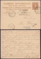 Indes Néerlandaises 1884 - Entier Postal Vers Den Haag.   Ref. (DD) DC-MV-062 - Indes Néerlandaises