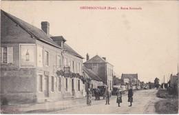 HEUDEBOUVILLE - Route Nationale - Attelage - Animé - Sonstige Gemeinden
