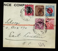 A5638) South Africa Briefstück MiF Natal Ua. - Südafrika (...-1961)
