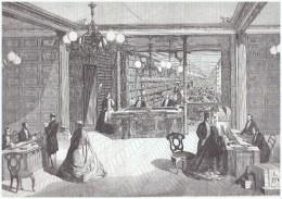 Gravure 1863  Grandes Industries De France   PARFUMERIE L.T PIVER   Parfum - Vieux Papiers