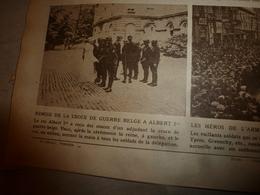 1919 LE MIROIR:Croix Guerre Belge Aux Héros;Fiancés De Landru;D-S-Cross Au Pigeon-voyageur;Peaux-rouges Canada,US;etc - Riviste & Giornali