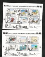 DOMINIQUE : Présidence Georges WASHINGTON  Année 1989 N°Y/T : 1149/72**  Côte : 24,00 € - Dominique (1978-...)