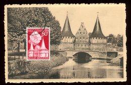 Belgique - Carte Maximum 1956 - Gand - Le Rabot - O 176 - Maximum Cards
