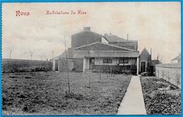 """CPA Belgique Belgie ROUX CHARLEROI Hainaut - Habitation Du Père (""""Grand Docteur Sans Médicament"""" - Ecole Morale) - Charleroi"""