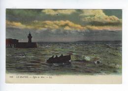 CPA 76 Le Havre Effet De Mer 166 - Port