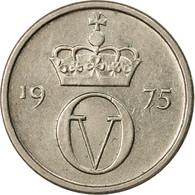 Monnaie, Norvège, Olav V, 10 Öre, 1975, TTB, Copper-nickel, KM:416 - Norvège