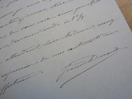 Jeanne DURAND NARDI (1867-19..) Chanteuse Lyrique MEZZO SOPRANO. Opera Comique. AUTOGRAPHE - Autographs