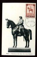 Belgique - Carte Maximum 1955 - Roi Albert - O 190 - Maximum Cards