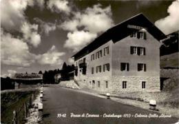 Passo Di Carerra - Costalunga - Colonia Stella Alpina (55-42) * 11. 5. 1961 - Italie