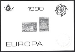 Feuillet NB Europa 1990 - Blocks & Kleinbögen Schwarz
