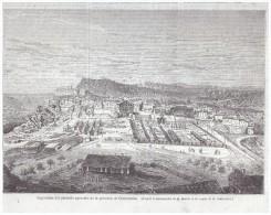 Gravure 1863 CONSTANTINE    Expostion Des Produits Agricoles De La Province Algerie - Ohne Zuordnung