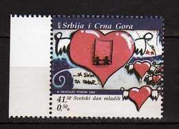 Yugoslavia.Serbia & Montenegro 2005 World Youth Day. MNH - 1992-2003 République Fédérale De Yougoslavie