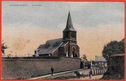 CPA Belgique Belgie AULNOIS-QUEVY - L' EGLISE - Quévy