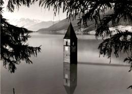 Vinschgau - Turm Des Versunkenen Graun Mit Ortler (122-8) - Italien