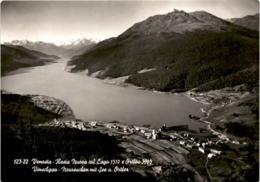 Vinschgau - Neureschen Mit See Und Ortler (123-22) * 29. 9. 1956 - Italien