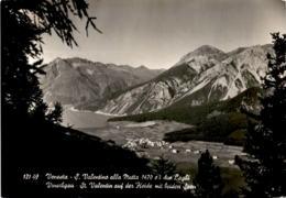 Vinschgau - St. Valentin Auf Der Heide Mit Beiden Seen (121-49) - Italien