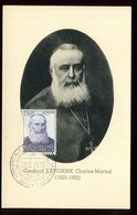 Congo Belge - Carte Maximum 1951 - Cardinal Lavigerie - O 196 - 1947-60: Lettres