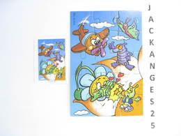 KINDER PUZZLE K01 N 109 2000 + BPZ - Puzzles