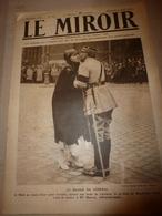 1919 LE MIROIR:Mlle Mourey Infirmière-Maj;Hommage Aux 23 Martyrs D'Anvers;Crimes En Pologne;Wiesbaden;Wexford (irl);etc - Revistas & Periódicos