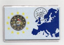 Cipro - 2012 - Moneta Da 2 Euro - Decennale Euro - Colorato - (MW1540) - Cipro