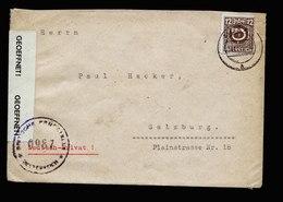 A5641) Österreich Austria Brief Müra 24.11.45 Inlandszensur - 1945-60 Briefe U. Dokumente