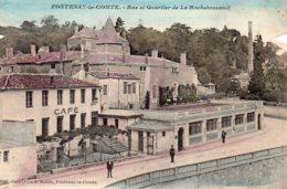 Fontenay Le Comte : Rue Et Quartier De La Rochefoucaud - Fontenay Le Comte