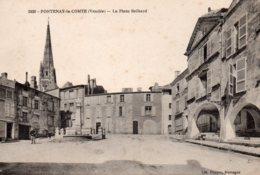 Fontenay Le Comte : La Place Belliard - Fontenay Le Comte
