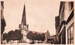 Fontenay Le Comte : L'église Notre Dame - Fontenay Le Comte