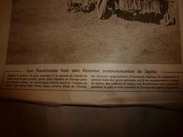 1919 LE MIROIR:Les Lapins Des US Soldiers;Belgique;Canada;Ourmiah (Kurdistan);Armée Assyriènne;Patricia De Connaught;etc - Français
