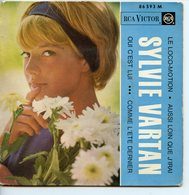 SYLVIE VARTAN 45T VINYLE RCA LE LOCO-MOTION - Collectors
