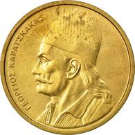 Monnaie, Grèce, 2 Drachmes, 1982, SUP, Nickel-brass, KM:130 - Greece