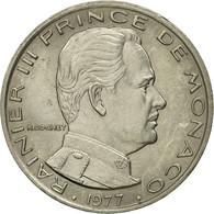 Monnaie, Monaco, Rainier III, Franc, 1977, SUP, Nickel, Gadoury:MC 150, KM:140 - Monaco