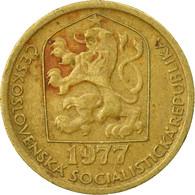 Monnaie, Tchécoslovaquie, 20 Haleru, 1977, TB+, Nickel-brass, KM:74 - Czechoslovakia