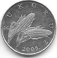 *Croatia 1 Lipa 2005 Km 3 Unc - Croatia