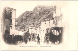 ES PUIGCERDA - Fau Et Campistro 24 - Précurseur - RIBAS - La Voiture De PUIGCERDA - Diligence - Animée - Belle - Gerona