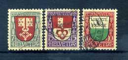 1919 SVIZZERA SERIE COMPLETA USATA - Suisse