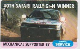 CARS - RALLY-003 - JAPAN - SAFARI RALLY - SUBARU - Cars