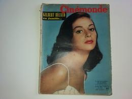 Ciné Monde  N° 1157  BRIGITTE BARDOT 11/10/1956  GILBERT BECAUD Rudolph VALENTINO  MICHELE MORGAN - People