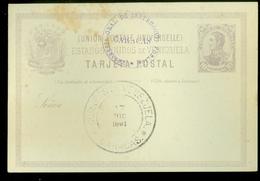 VENEZUELA TARJETA POSTAL Uit 1891 (11.444x) - Venezuela