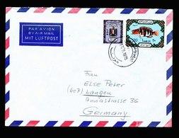 A5645) Libia Libyen Brief 1975 Nach Germany - Libyen
