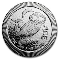 NIUE 2 Dollars Argent 1 Once Chouette Athénienne 2018 - Niue