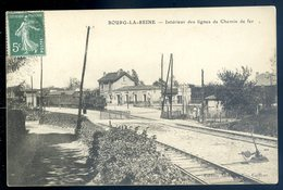 Cpa Du 92 Bourg La Reine Intérieur Des Lignes De Chemin De Fer    SEPT18-22 - Bourg La Reine
