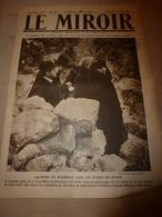 1919 LE MIROIR:Reine Marie;Japon;St-Quent.,Montd.,Noyon,Moreuil,Roye;Hangard-;Serbes à Corfou;Kurt Eisner;Munich;etc - Revues & Journaux