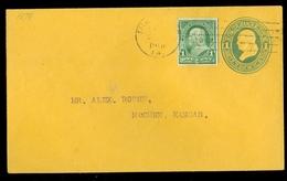 USA 1901 GREEN 1 Cent * LETTER  To McCUNE KANSAS   (11.444z) - Verenigde Staten