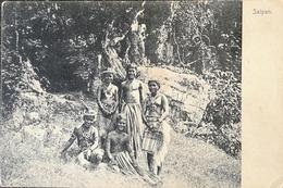 Saipan (Micronesia) Local  Tribal People // PINHOLE! 19?? Very Rare - Micronésie