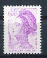 RC 10156 FRANCE N° 2184 - 0,50 VARIÉTÉ IMPRESSION TRÈS DEFECTUEUSE SIGNÉ NEUF ** MNH TB - 1982-90 Liberté De Gandon