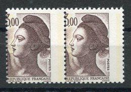 RC 10157 FRANCE N° 2239 - 3,00 VARIÉTÉ PIQUAGE A CHEVAL NEUF ** MNH TB - 1982-90 Liberté De Gandon