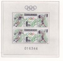 Ceskoslovensko 1988 Olympic Summer Games In Seoul, Corea - Souvenir Sheet MNH/**  (H43) - Sommer 1988: Seoul